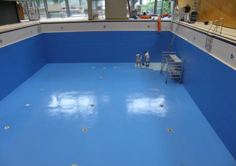 zwembaden coaten en schilderen